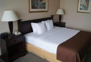 Guest Room at the Comfort Inn Lancaster County North