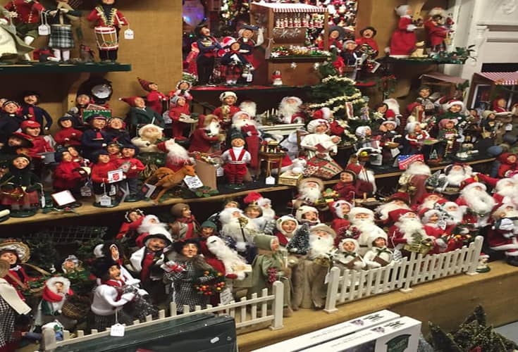 Display at Murdoughs Christmas Barn