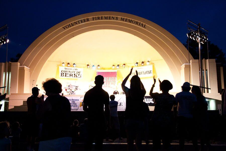 Bandshell Free Concert in Pennsylvania's Americana Region