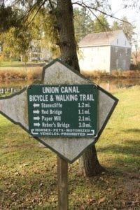 The Union Canal in Berks County, Pennsylvania