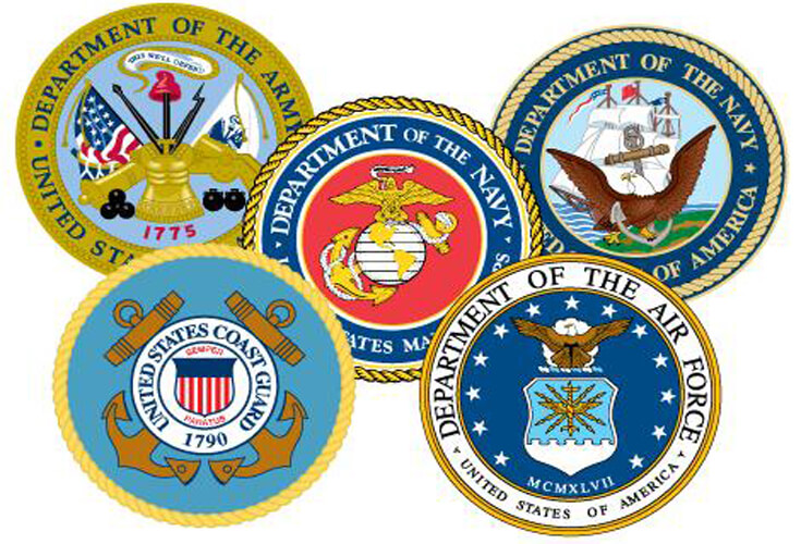 Veteran Affairs Seals
