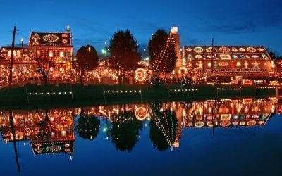 Bring the Whole Family for Christmas Light Displays In Berks County