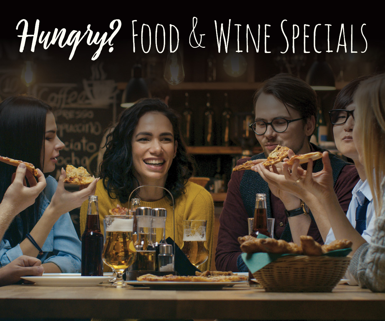 Advertisement for the Food and Wine Calendar