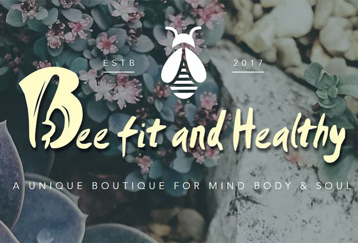 Bee Fit and Healthy Logo