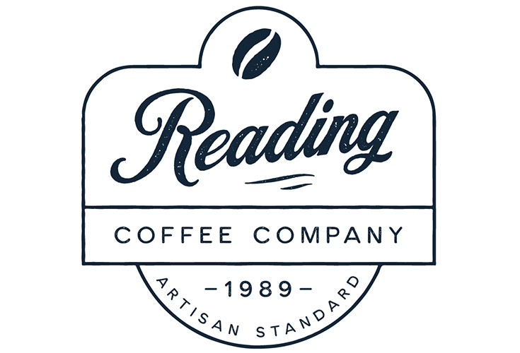 Logo for the Reading Coffee Company