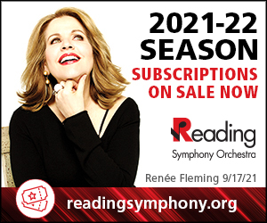 Reading Symphony Orchestra. 2021-22 Season Subscriptions on Sale Now.